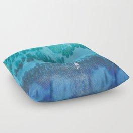 Roatan Island, Honduras Floor Pillow