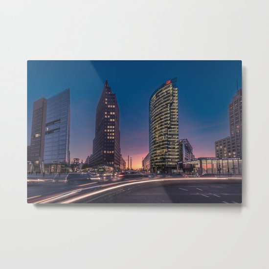 Potsdamer Platz Metal Print