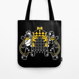 Crest of Dog Tote Bag