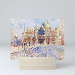 Renoir - The Piazza San Marco, Venice Mini Art Print