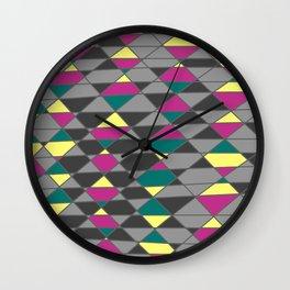 jewel tone Wall Clock