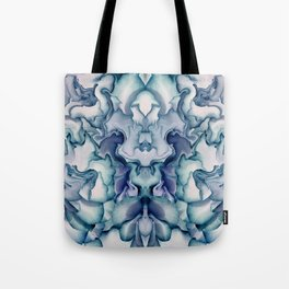 Abstract graphic mirror 8 Tote Bag