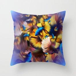 Ultraviolet Splendens Throw Pillow