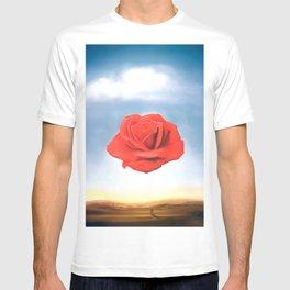 Salvador Dali - Meditative Rose - 1958 Restored Artwork for Wall Arts, Prints, Posters, Tshirts, Men, Women, Kids T-shirt