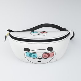 Panda - 3D Glasses Fanny Pack