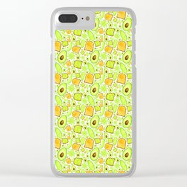 Let's 'Avo Toast - White Clear iPhone Case