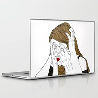 introvert Laptop & iPad Skins featuring Introvert 7 by Heidi Banford