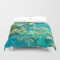 fireworks Duvet Covers featuring Fireworks by Paul Kimble