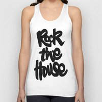 gorillaz Tank Tops featuring Rock The House by Parys