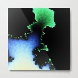 Julia's Joy - fractal abstract art Metal Print