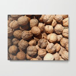 Food stuffs fresh vegetables and fruits Metal Print
