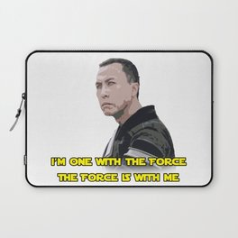 One With The Force Laptop Sleeve