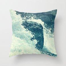 The Sea I. Throw Pillow