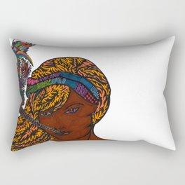 La Flaca Rectangular Pillow