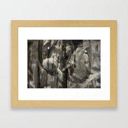 spooning Framed Art Print