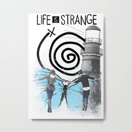 Life Is Strange - Partner In Time Metal Print