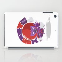 magneto iPad Cases featuring Magneto (style) by Seez