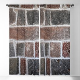 Stone wall colour 6 Blackout Curtain