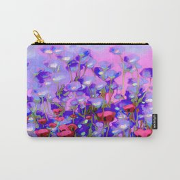 Spring Blush too, Mauve Moods Carry-All Pouch