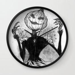 Sketchy Scarecrow Wall Clock