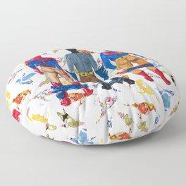 Super Hero BUTTs | It's a bird, it's a plane, it's... a booty Floor Pillow