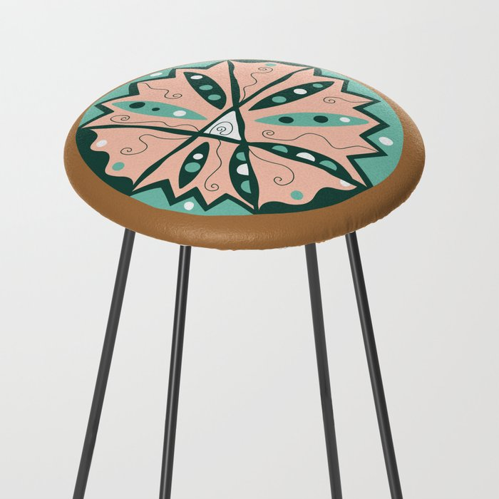Dot #15 by lalalamonique Counter Stool