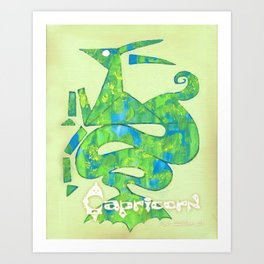Capricorn Poster Art Print