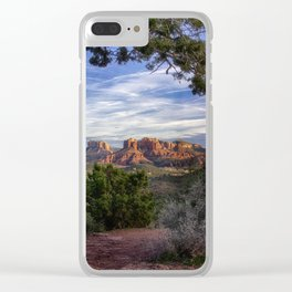 Red Rock Country - Arizona Clear iPhone Case