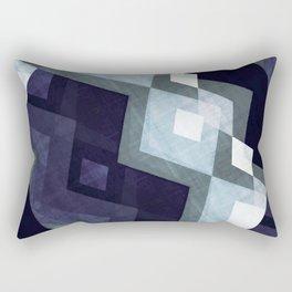 Scandinavian art print, Scandinavian poster art, blue art, Scandinavian poster print, Modern poster Rectangular Pillow