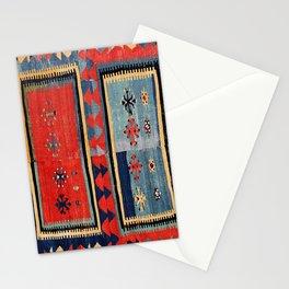Sivas  Antique Cappadocian Turkish Kilim Print Stationery Cards