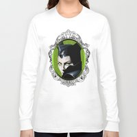 maleficent Long Sleeve T-shirts featuring Maleficent by Tish