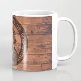 Washington State Flag and Seal Brand Coffee Mug