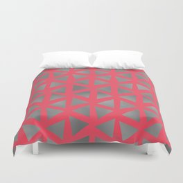 Cool triangles Duvet Cover