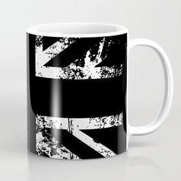 United Kingdom Black Flag Coffee Mug