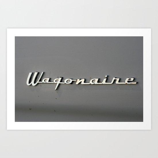 Wagonaire Art Print