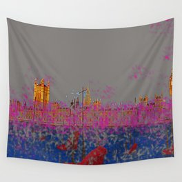 The Siege of the Parliament in May - shoes stories Wall Tapestry