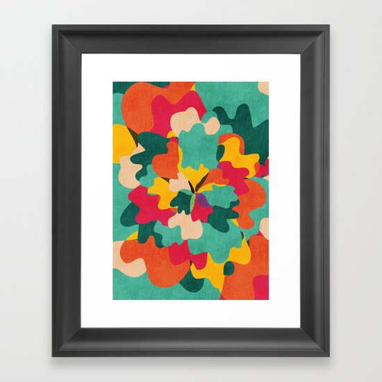 Aloha Camo Framed Art Print