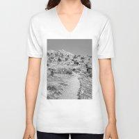wander V-neck T-shirts featuring Wander by Casey Sprau