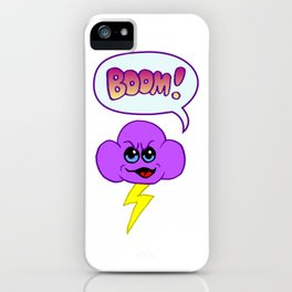 Thunder Cloud iPhone Case