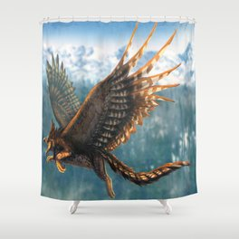 Gryphon Restored Shower Curtain