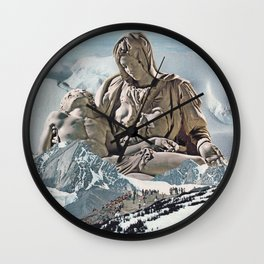 Pilgrimage Wall Clock