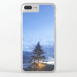 The North Moon Clear iPhone Case