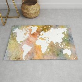 Design 63 World Map Rug