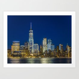 Lower Manhattan, New York 1 Art Print