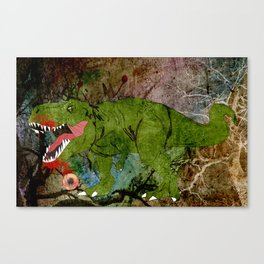 MAN EATER. Canvas Print