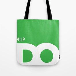 Cropped D.O. Pulp Logo Tote Bag