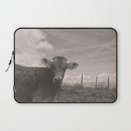 vintage cow Laptop Sleeve