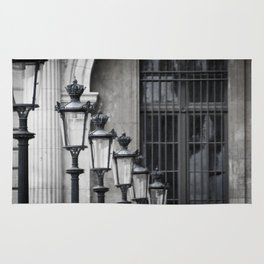 Parisian Streetlamps Rug
