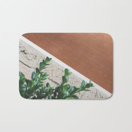 Plant + Copper #society6 #buyart #decor Bath Mat