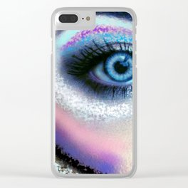 Eye of the Warrior Clear iPhone Case